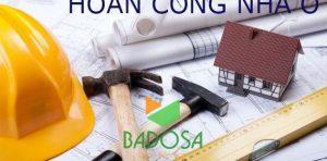 Hoàn công nhà ở, Badosa, Thủ tục hoàn công nhà ở, Hồ sơ hoàn công, Thủ tục pháp lý, Sổ hồng